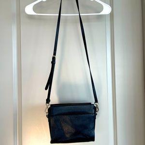 Vince Camuto Crossbody Black Leather Purse